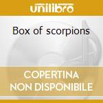 Box of scorpions cd musicale di Scorpions