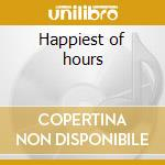 Happiest of hours cd musicale di Bedbug