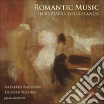 Romantic music for piano four-hands cd musicale di Miscellanee