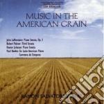 Music in the american grain - sonata per cd musicale di La montaine john
