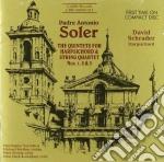 Quintetti per clavicembalo e archi nn.1, cd musicale di Antonio Soler