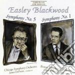 Sinfonia n.5 op.34 - sinfonia n.1 op.3 cd musicale di Easley Blackwood