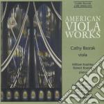 American viola works cd musicale di Miscellanee