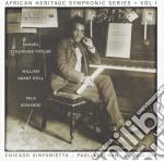 African heritage symphonic series, vol.1 cd musicale di Sa Coleridge-taylor