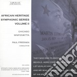 African heritage symphonic series, vol.2 cd musicale di Miscellanee