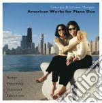 American works for piano duo: sonata per cd musicale di Vincent Persichetti