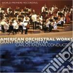 Opere orchestrali americane cd musicale di Miscellanee