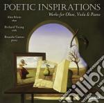 Poetic inspirations - opere per oboe, vi cd musicale di Miscellanee