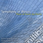 Symphony in waves, newly drawn sky, too cd musicale di Kernis aaron jay