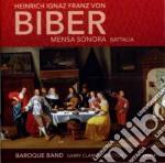 Mensa sonora - battalia 'sonata per marc cd musicale di Biber heinrich igna