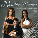 Notable women: trios by today's female c cd musicale di Miscellanee