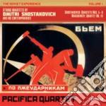 The soviet experience vol.1 - quartetti cd musicale di Dmitri Sciostakovic
