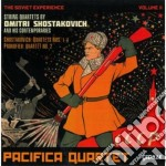 The soviet experience vol.2 - quartetti cd musicale di Dmitri Sciostakovic