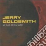 Jerry Goldsmith - 40 Years Of Film Music (4 Cd) cd musicale di