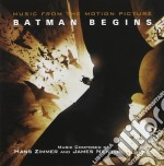 BATMAN BEGINS                             cd musicale di ZIMMER HANS AND JAMES NEWTON H
