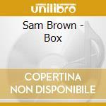 Box - cd musicale di Brown Sam
