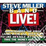 Live cd musicale di Steve miller band