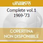 Complete vol.1 1969-'73 cd musicale di Ann Peebles
