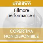 Fillmore performance s cd musicale di Santana