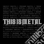 This is metal cd musicale di Artisti Vari