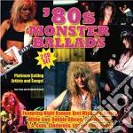 80s monster ballads cd musicale di Artisti Vari