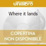 Where it lands cd musicale di Damnations