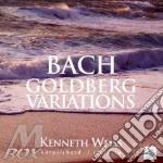 Variazioni golberg cd musicale di Johann Sebastian Bach