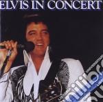 ELVIS IN CONCERT cd musicale di Elvis Presley