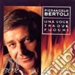 UNA VOCE TRA DUE FUOCHI cd musicale di Pierangelo Bertoli