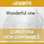 Wonderful one - cd musicale di Luis arcaraz & his orchestra