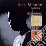 NINA SIMONE & PIANO. SILK & SOUL cd musicale di Nina Simone