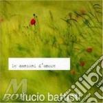 LE CANZONI D'AMORE cd musicale di Lucio Battisti
