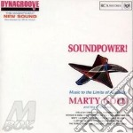 Marty Gold & His Orchestra - Soundpower cd musicale di Marty gold & his orc