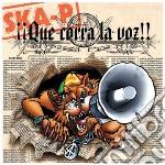 Ska-p - !!! Que Corra La Voz !!! cd musicale di P Ska