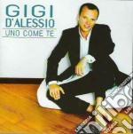 UNO COME TE cd musicale di Gigi D'alessio