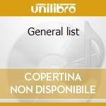 General list cd musicale di Big tray deee