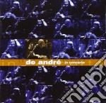 DE ANDRE' IN CONCERTO cd musicale di Fabrizio De Andrè