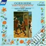 Missa prolationum cd musicale di Ockeghem