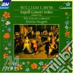 Royal consort suites v.1 cd musicale di Lawes
