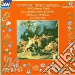 17 century music soprano arpa... cd musicale di Sances / corbetta
