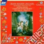 5 flute sonatas cd musicale di Leclair