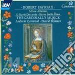 Missa albanus/ave lumen gratie cd musicale di Fayrfax
