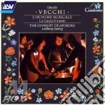 Orazio Vecchi - L'Humore Musicale cd musicale di VECCHI ORAZIO