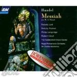 Messiah cd musicale di Handel george f.