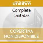 Complete cantatas cd musicale di Rameau