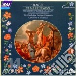 St mark passion cd musicale di Bach johann sebastian