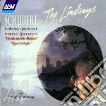 String quintet / lindsays cd musicale di Franz Schubert