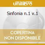 Sinfonia n.1 v.1 cd musicale di Giuseppe Martucci
