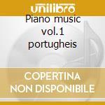 Piano music vol.1 portugheis cd musicale di Ginastera