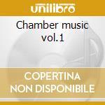 Chamber music vol.1 cd musicale di Alfred Schnittke